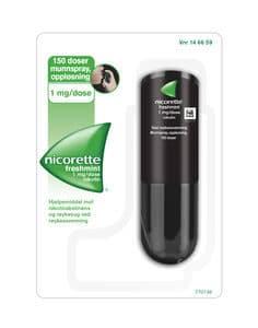 Nicorette Munnspray 1 mg/dose