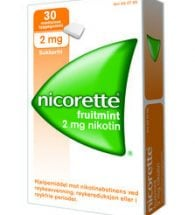 Nicorette Fruitmint Tyggegum 2 mg