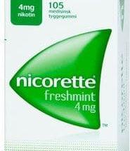 Nicorette Freshmint Tyggegum 4 mg