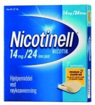 Nicotinell Depotplaster 14 mg/24 timer