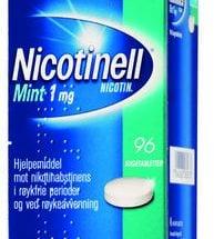 Nicotinell Mint Sugetab 1 mg