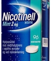 Nicotinell Mint Sugetab 2 mg