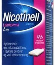 Nicotinell Tyggegum med lakrissmak 2 mg