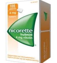Nicorette Fruitmint Tyggegum 4 mg