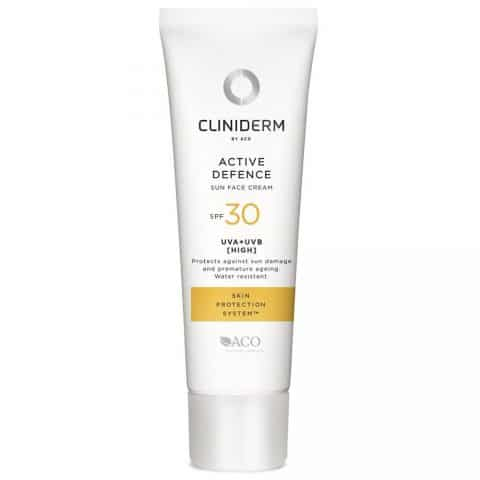 Cliniderm sun face cream f 30