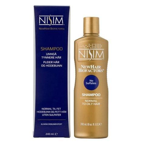 NISIM Shampoo for normal til fet hodebunn og fett hår
