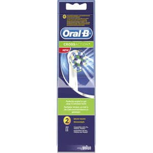 Oral B Cross Action 2-pack børstehode